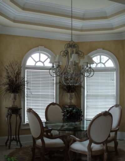 Dining Room picture - this is from a house built by Wysocki Brothers in East Cobb area.